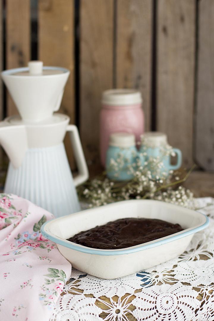 Brownie saludable sin harina y sin azúcar fácil y auténtico