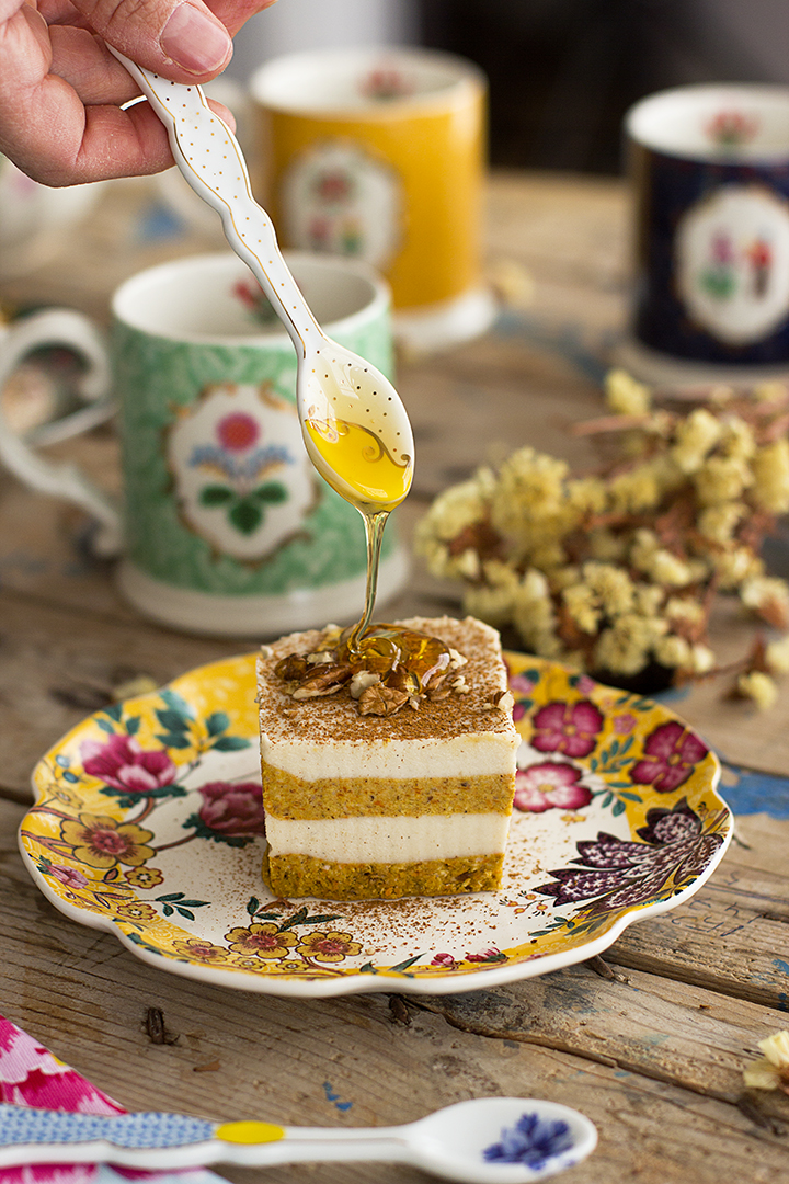 Cuadraditos De Carrot Cake 1
