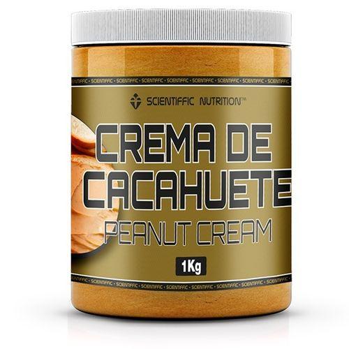 Crema De Mantequilla De Cacahuete Scientiffic Nutrition