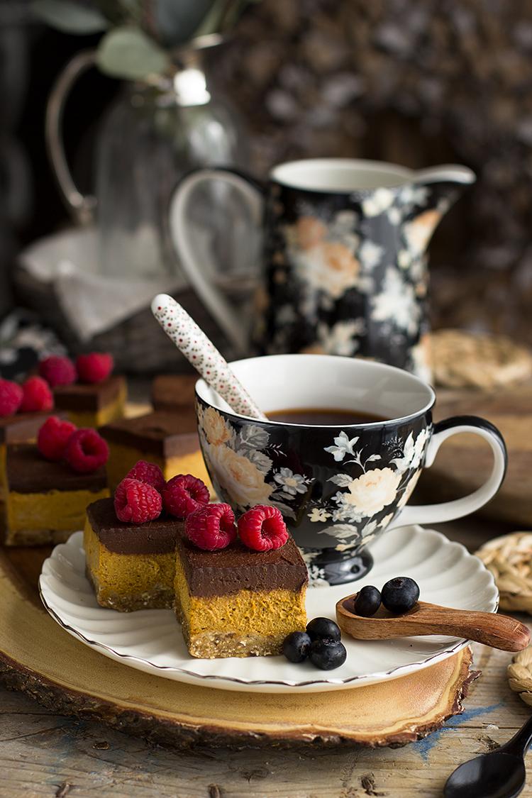 Cuadraditos De Calabaza Y Chocolate Healthy – Receta Saludable