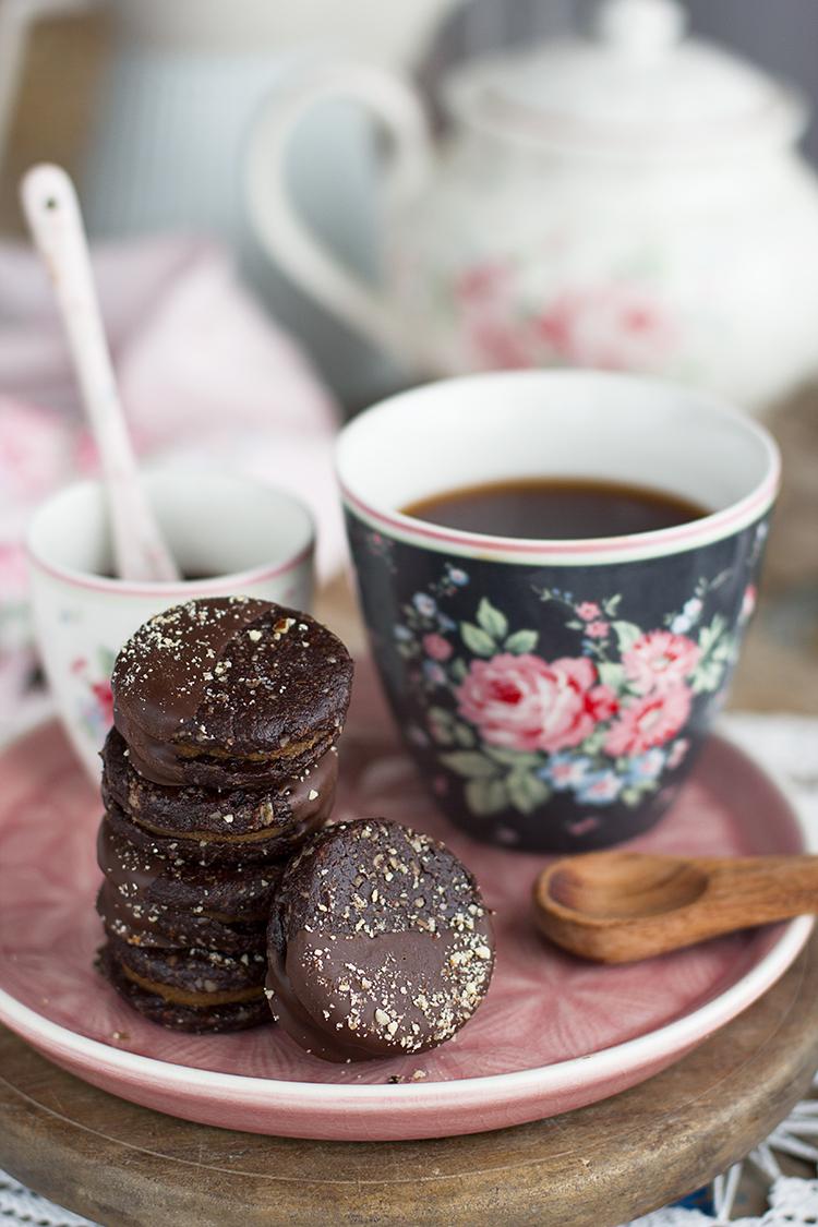 Galletas rellenas de boniato receta fácil y healthy saludable