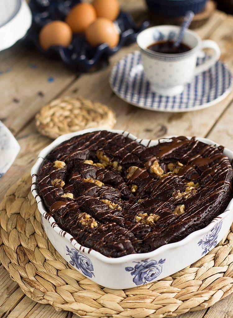 Brownie De Alubias Negras En 7 Minutos