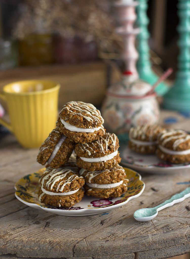 Cookies Carrot Cake Saludables