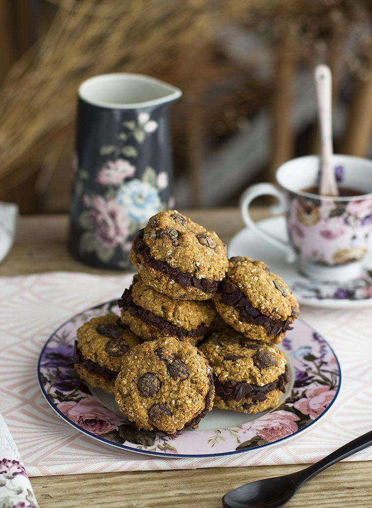 Cookies Rellenas Con Chips De Chocolate