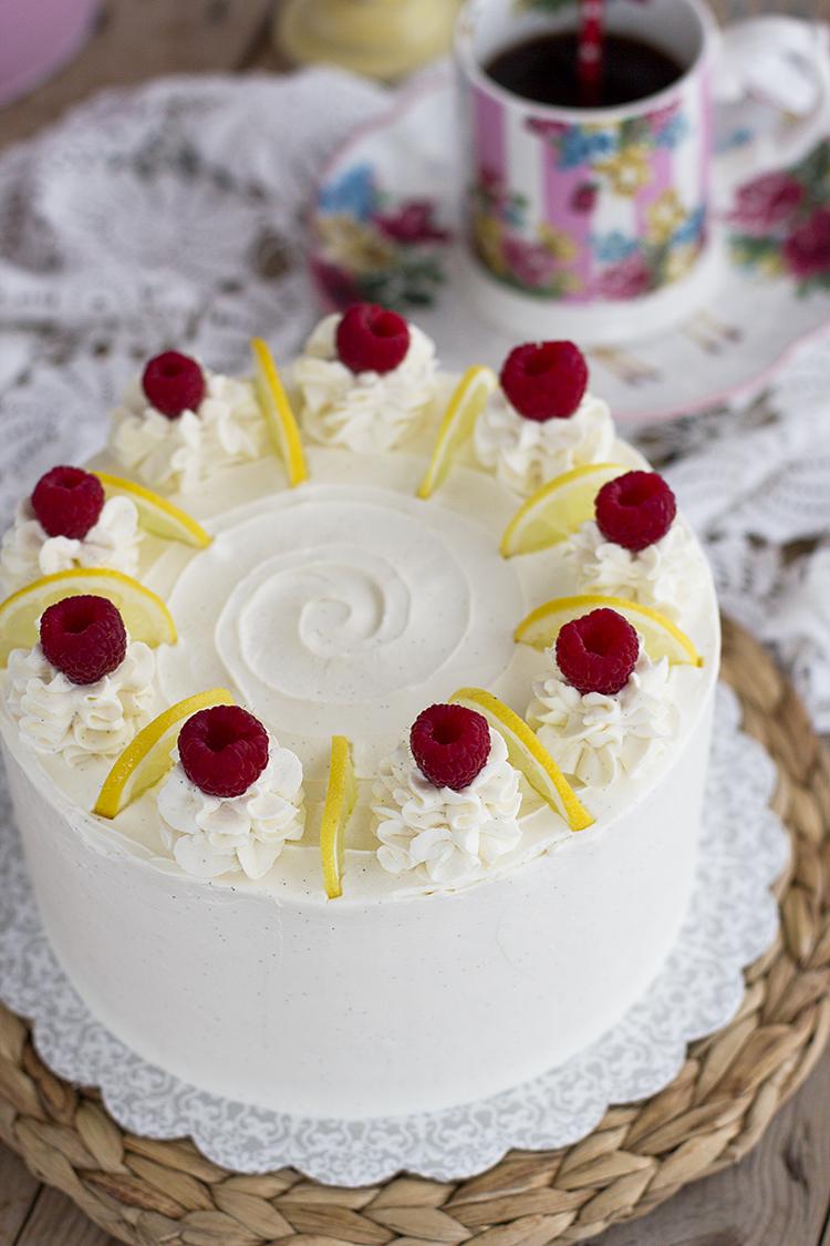 Tarta de Limón y Mascarpone la más fácil y fresca tarta de limón