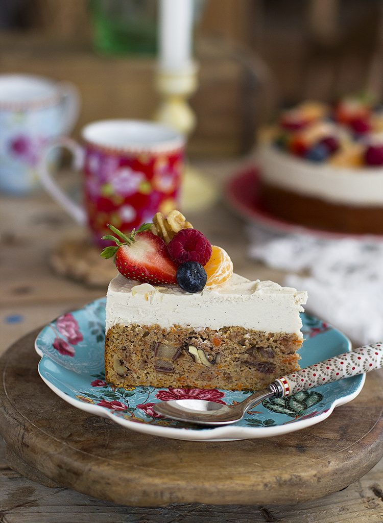 Tarta De Zanahoria Saludable – Carrot Cake Healthy