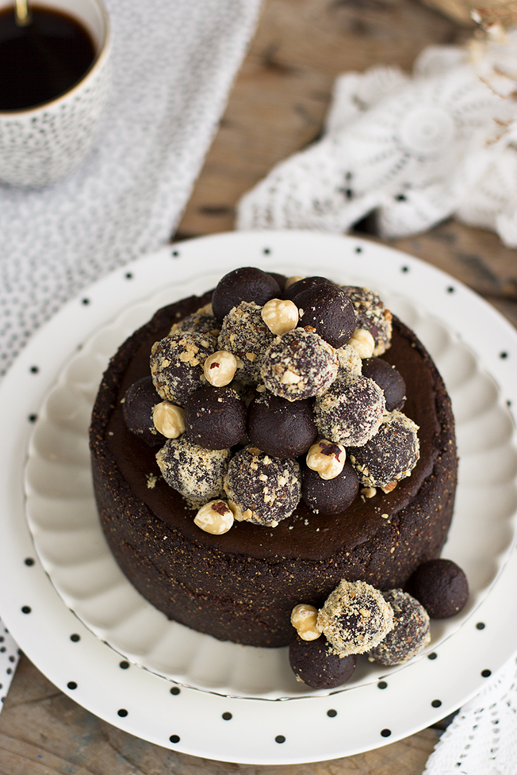 Cheesecake de Ferrero Rocher Saludable la mejor tarta del mundo