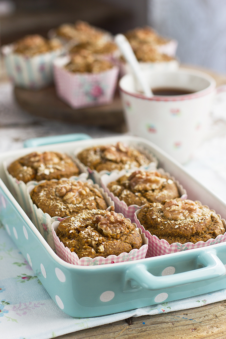 Muffins De Zanahoria Saludables