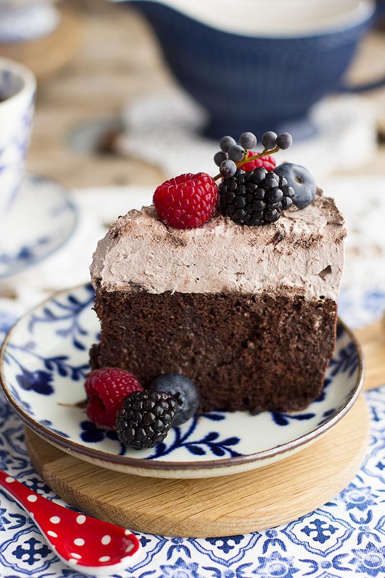 Pastel de 3 leches de chocolate receta sencilla muy chocolateada.