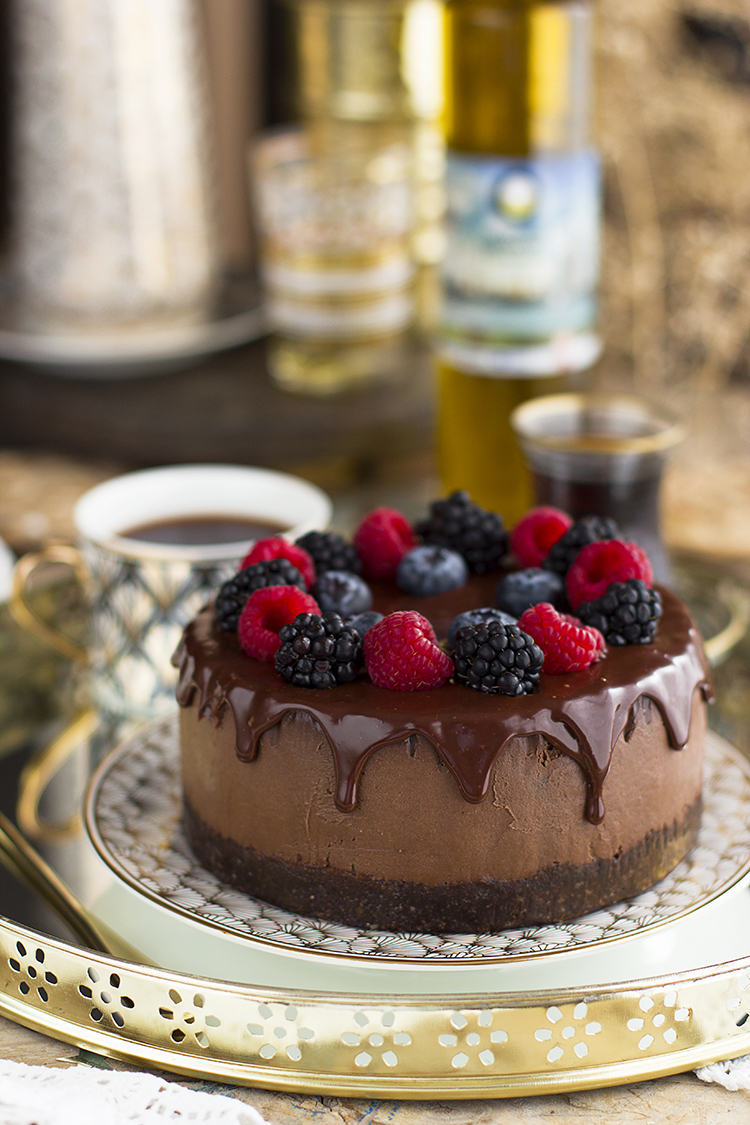 Cheesecake Chocolate Aceite Oliva 2