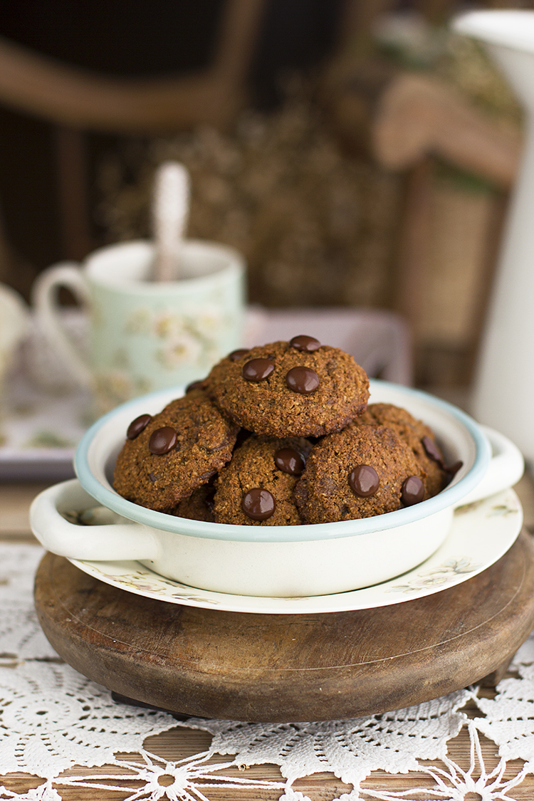 Cookies De Chocolate Saludables 2