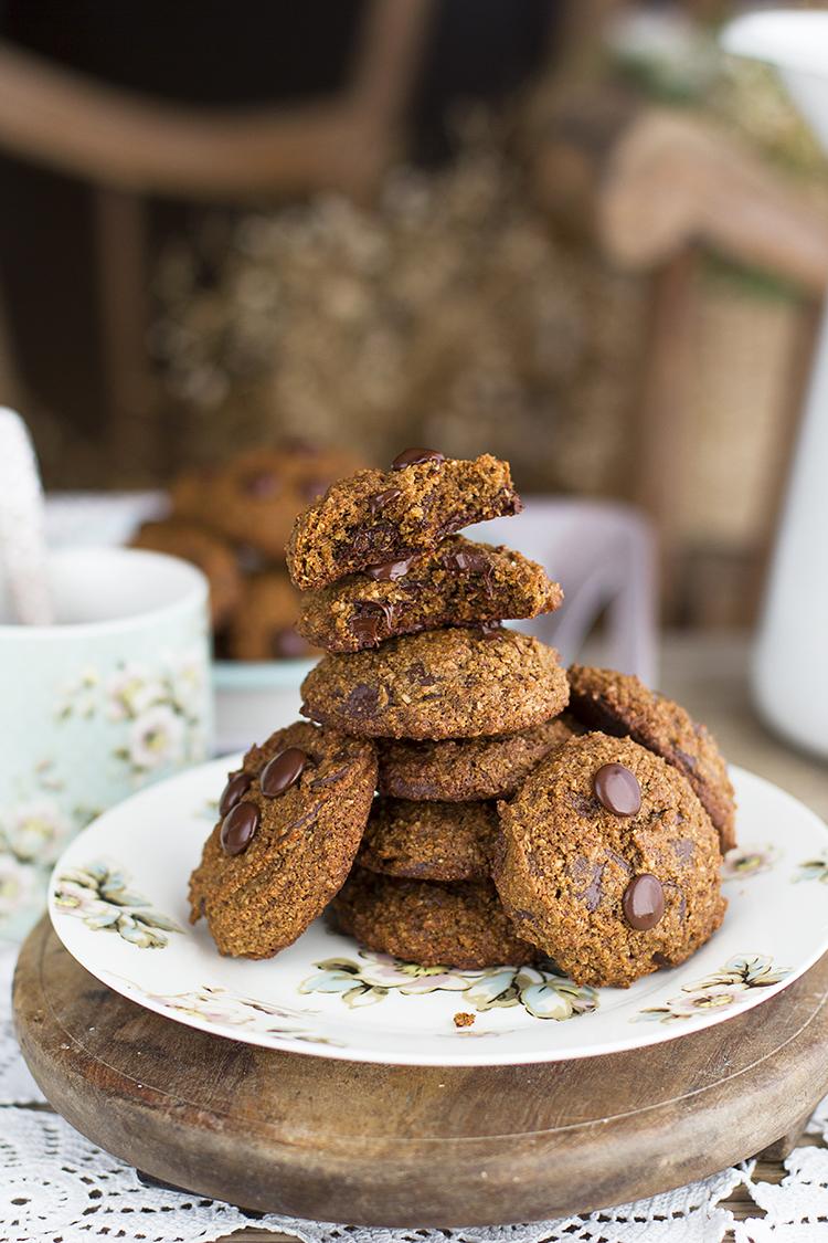 Cookies de Chocolate Saludables fáciles y deliciosas