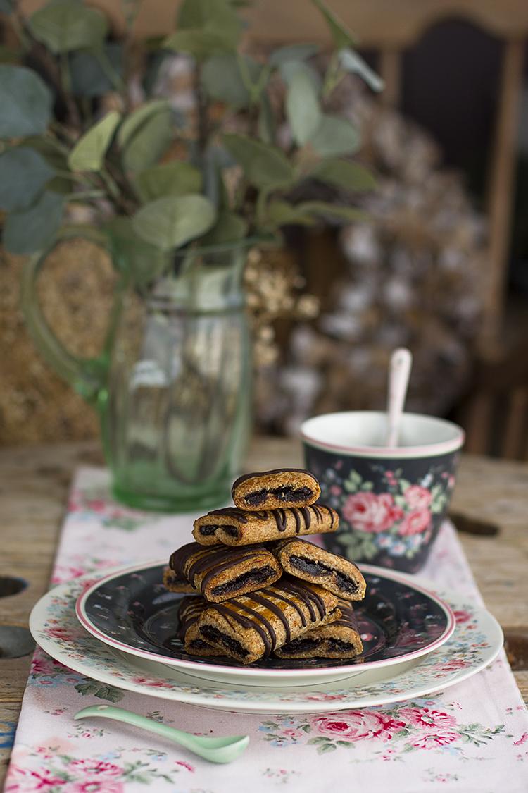 Napolitanas de Chocolate Saludables fáciles, rápidas y ricas