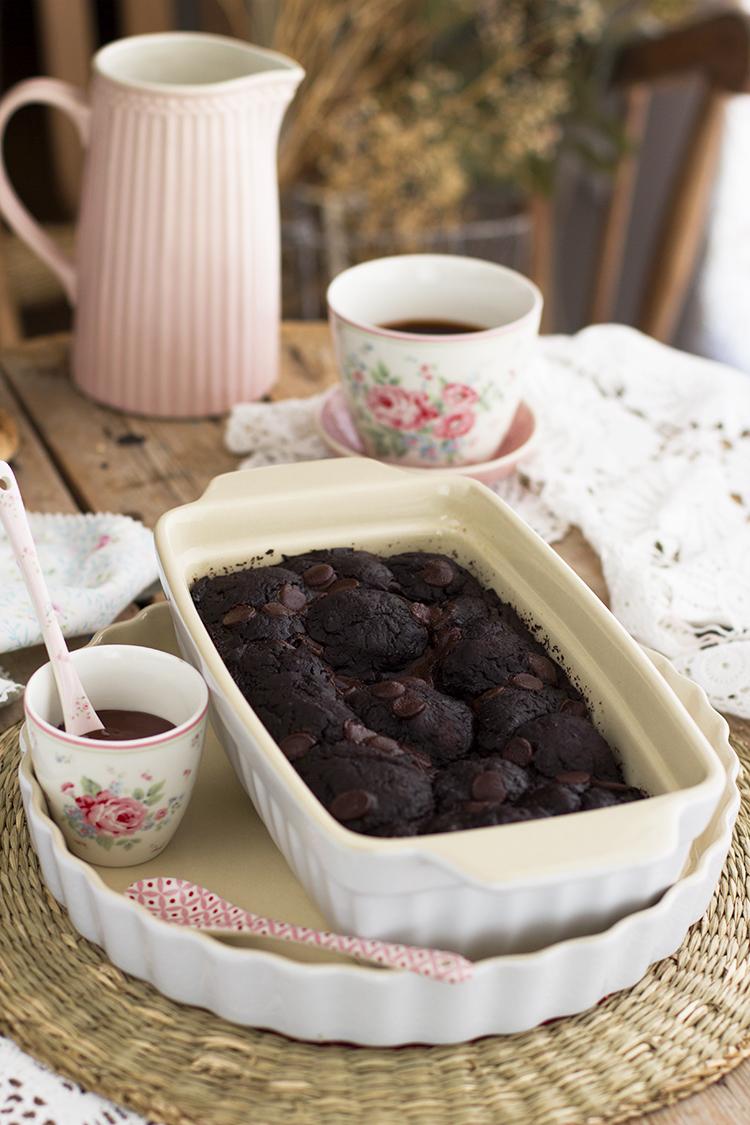 Pan Dulce de Chocolate sin azúcar y muy saludable