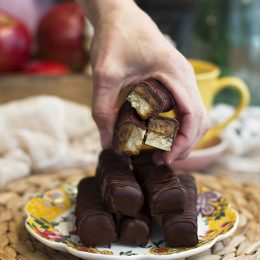 Chocolatinas Twix Saludables