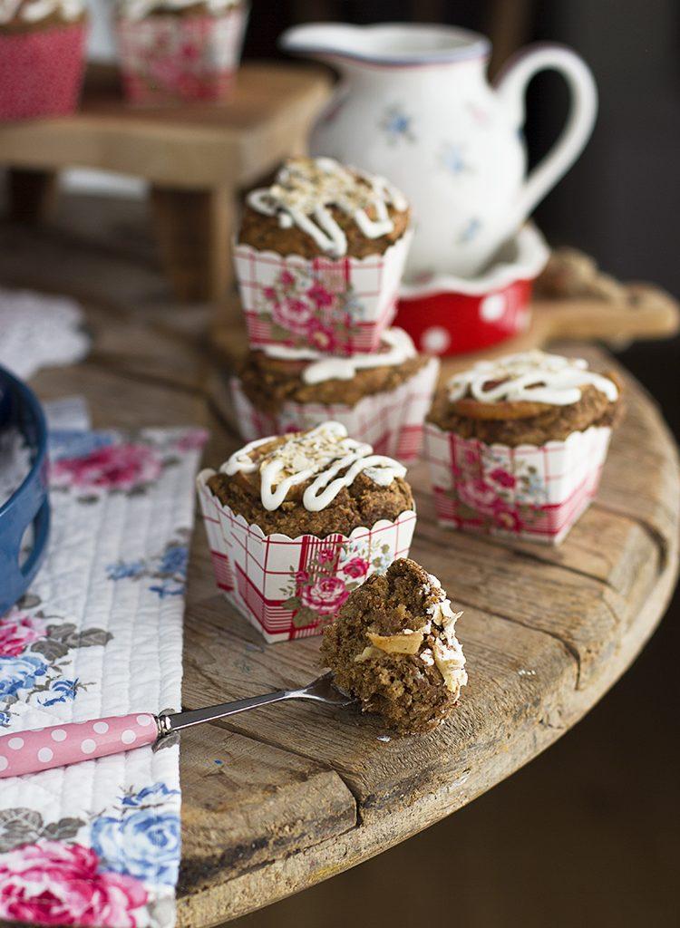 Muffins De Manzana Saludables