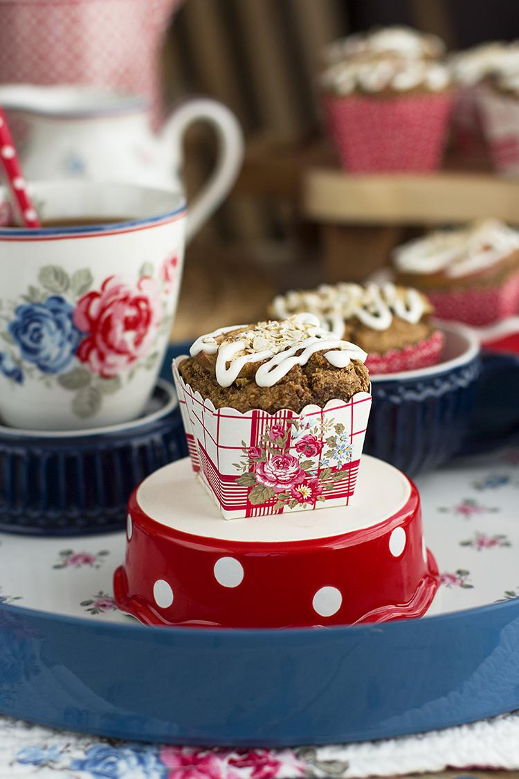 Muffins de Manzana Saludable tiernos y deliciosos