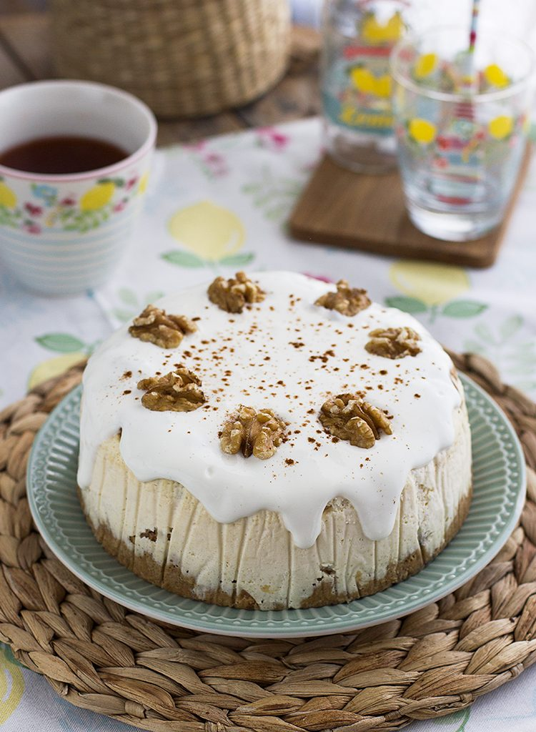 Cheesecake Carrot Cake Saludable