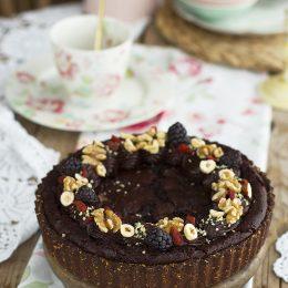 Brownie Pie Saludable