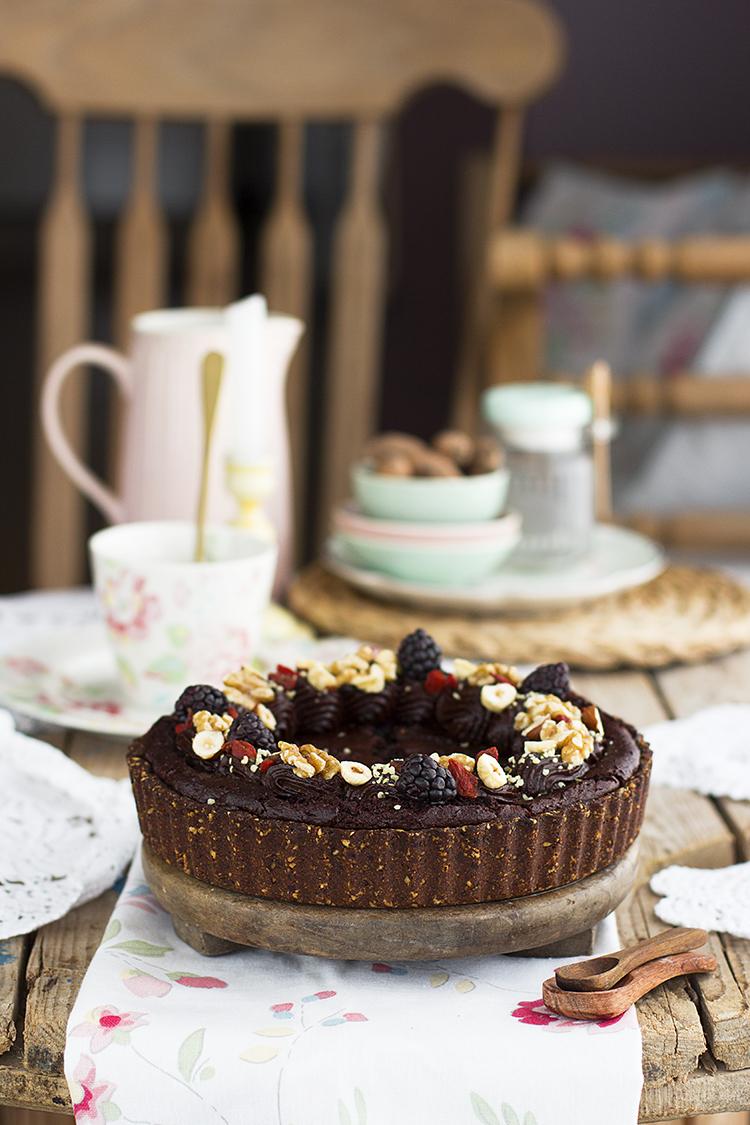 Brownie Pie saludable la mejor receta que jamás has probado