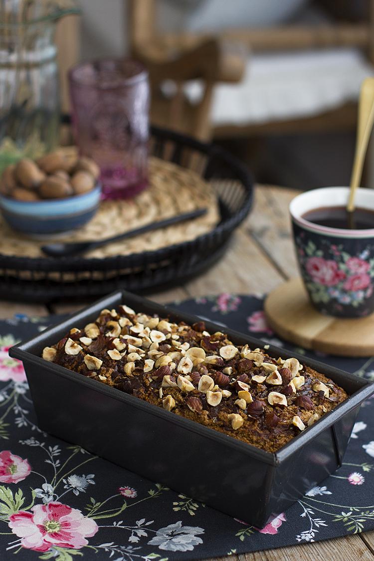 Plum Cake de Nutella Saludable sencillo, delicioso y adictivo.