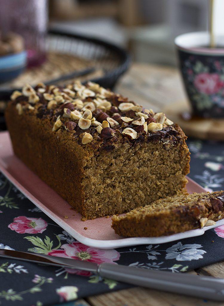 Plum Cake De Nutella Saludable
