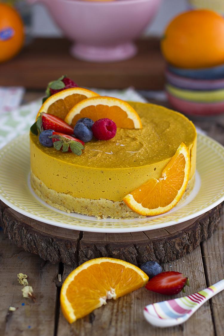 Tarta Helada De Naranja 4