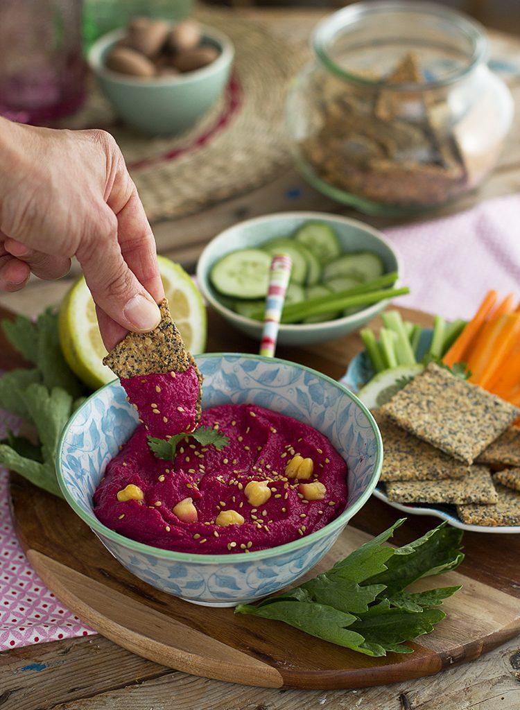Hummus De Remolacha Receta Fácil Y Saludable En 5 Minutos