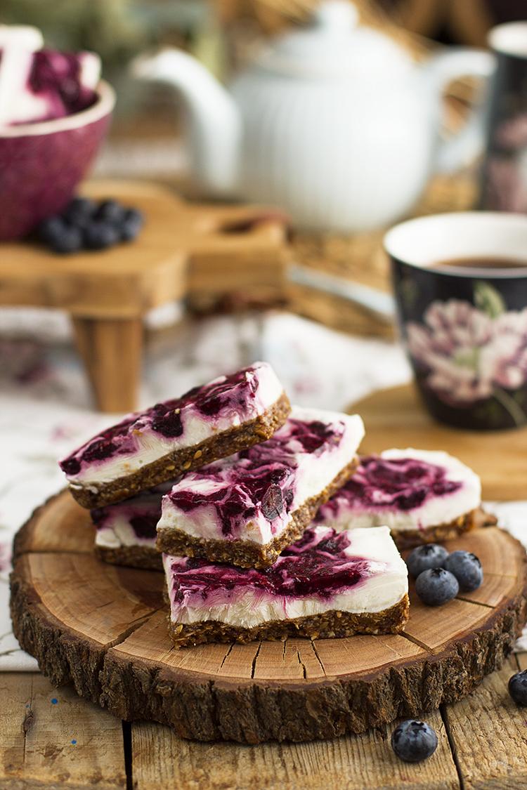 Barritas Heladas de Yogurt Avena y Frutos Rojos super sencillas y sanas