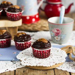 Magdalenas Doble Chocolate Extra Esponjosas Sin Gluten