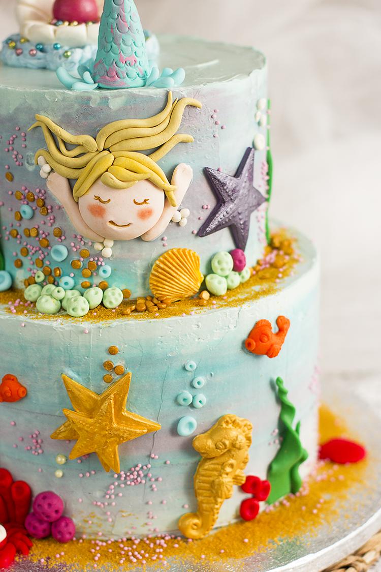 Tarta de Sirenas la tarta perfecta para cualquier cumpleaños