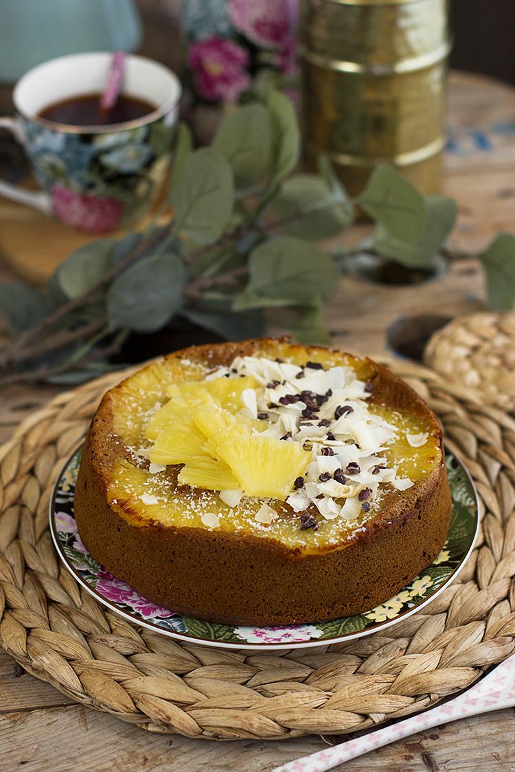 Plum Cake Piña Colada 3