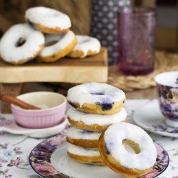 Donuts De Arándanos Super Jugosos