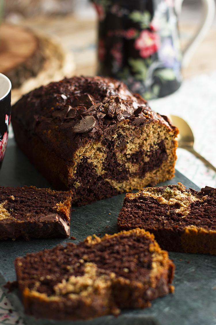 Plum Cake De Calabacin Y Chocolate 9