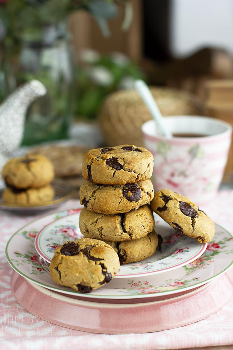 Cookies con Chips rellenas