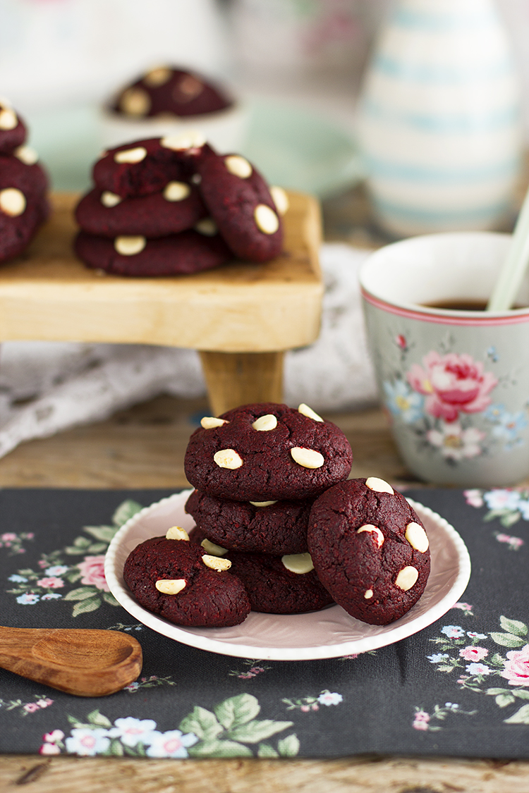Cookies Red Velvet Saludables