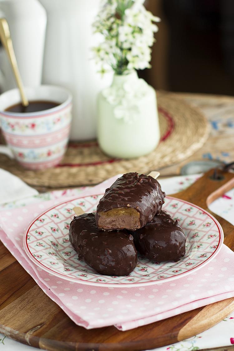 Magnum Choco Snickers receta saludable, rica y fácil.