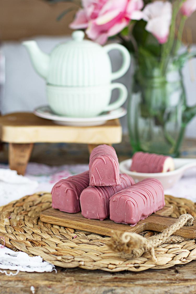 Barritas heladas de Pantera Rosa ricas y fáciles de hacer