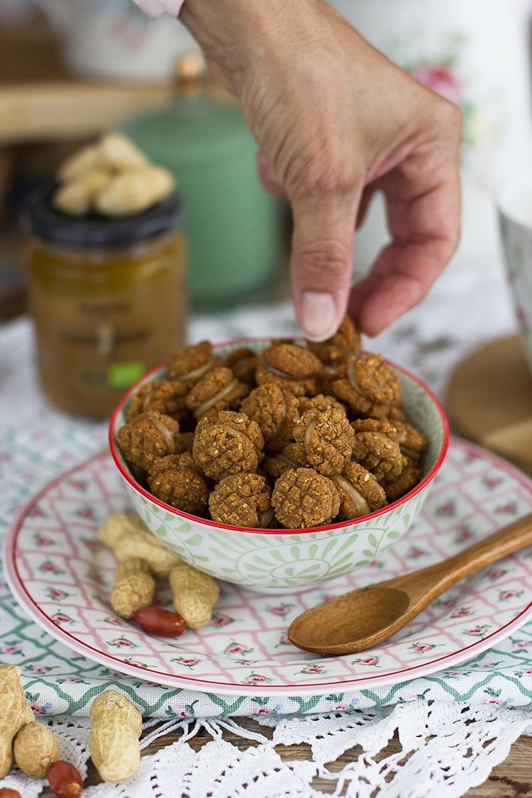 Cereales de Cookies de Cacahuete, receta saludable y fácil
