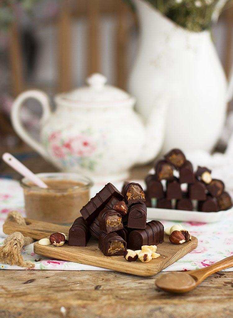 Chocolatinas Kinder Bueno Casero