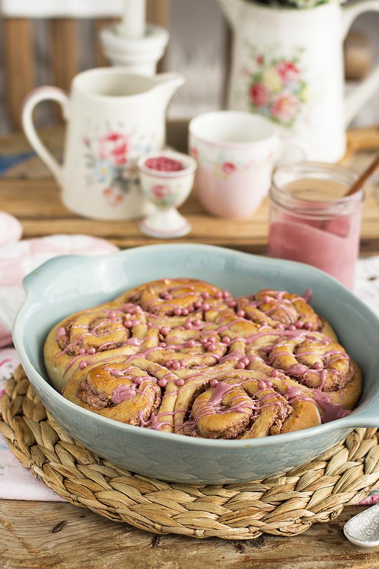 Cinnamon Rolls de Pantera Rosa y sabe igual que los pastelitos!