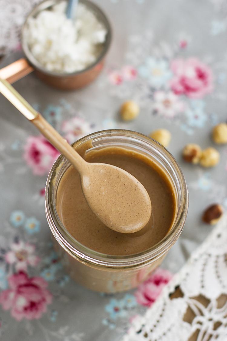 Crema Kinder Bueno Saludable con muy pocos ingredientes vegana