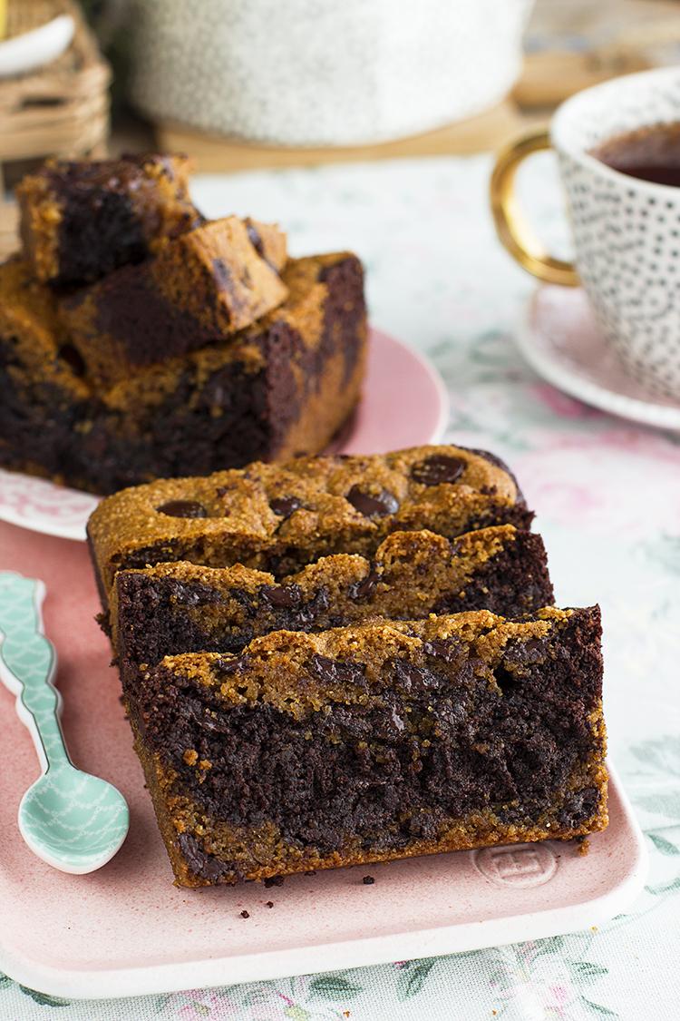 Brookie la fusión entre un brownie y una cookie en versión saludable