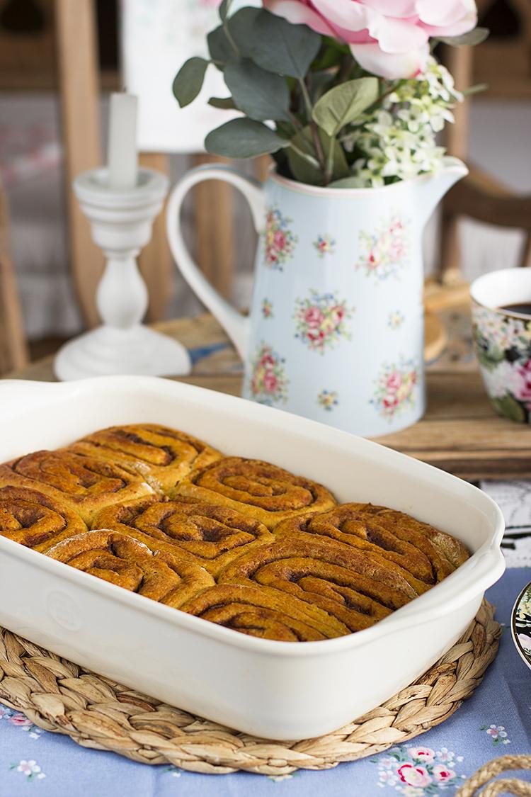 Cinnamon Rolls Carrot Cake la receta más perfecta del mundo