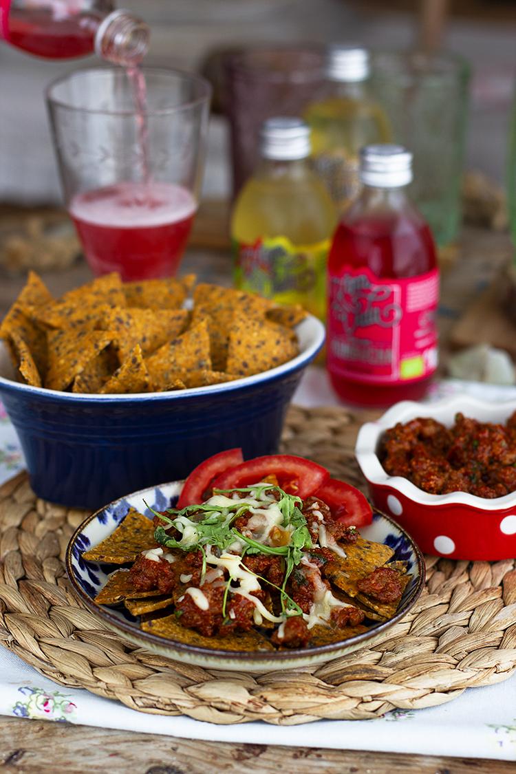 Nachos Doritos Saludables mi receta estrella en casa