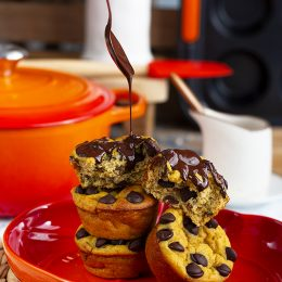 Muffins De Calabaza Y Chocolate