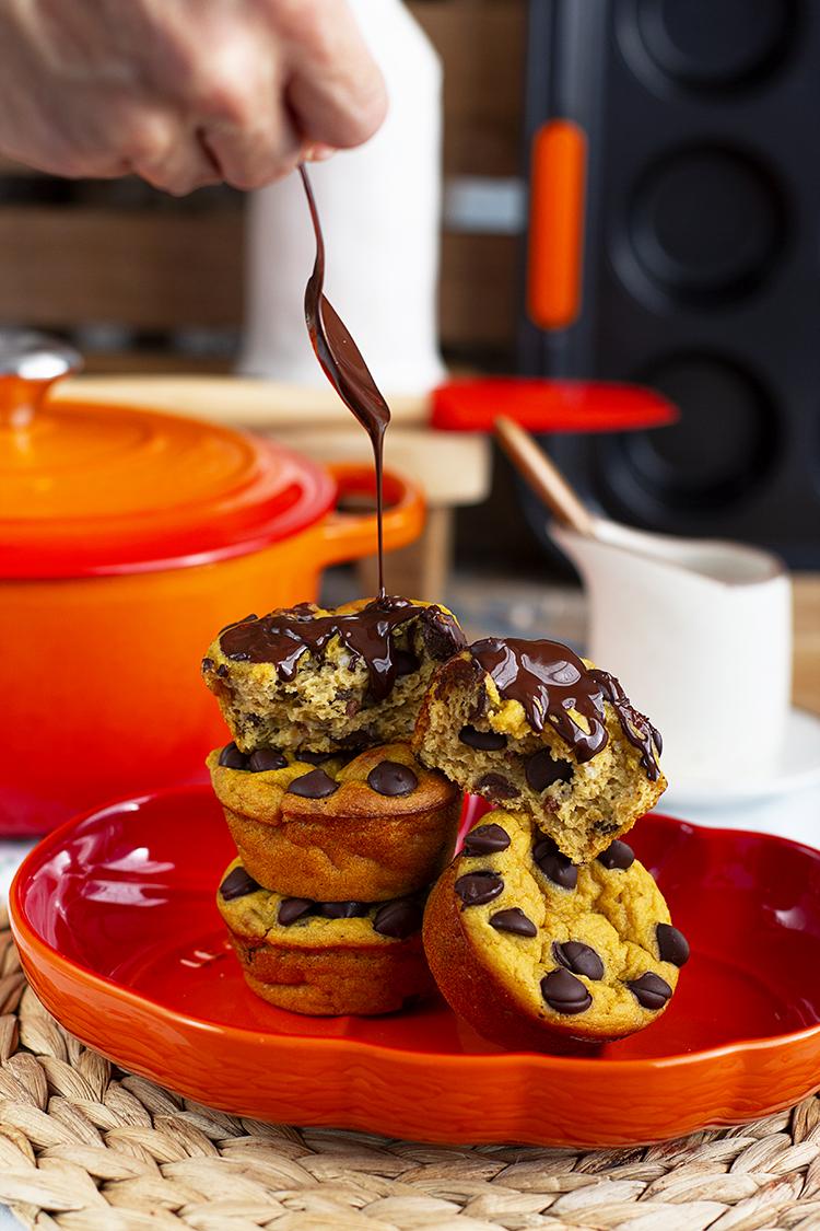 Muffins Calabaza Y Choco 2