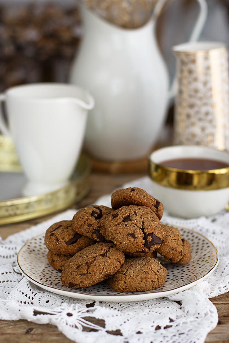 Cookies Chunks sin gluten, sin azúcar que además son Keto