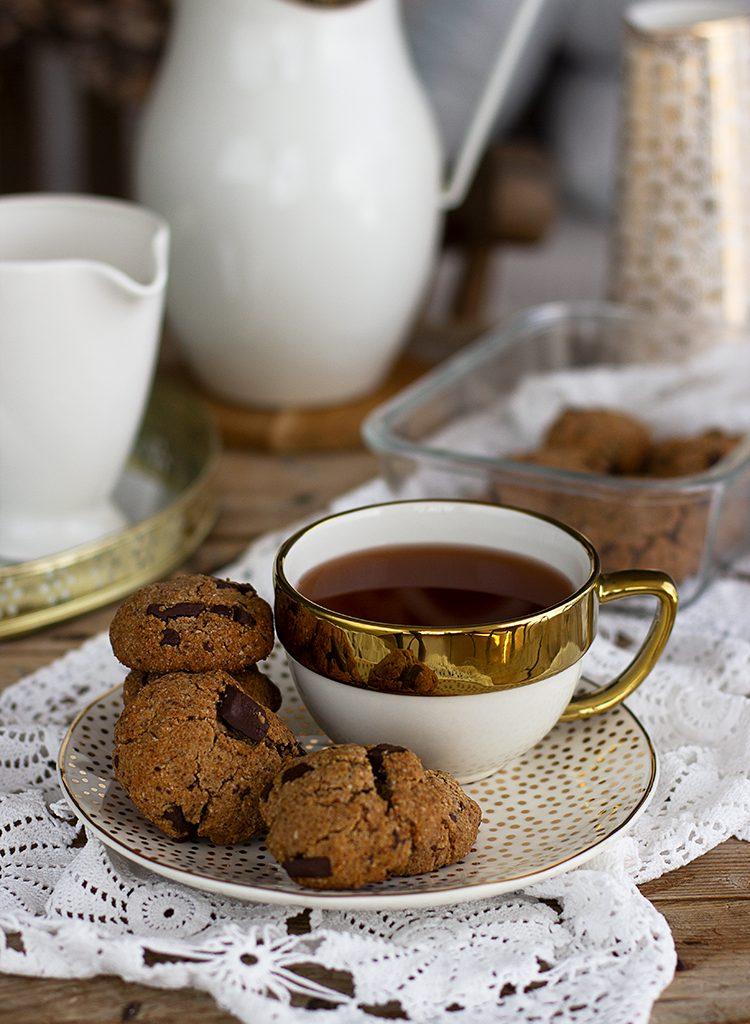 Cookies Chunks Sin Harina – Receta KETO