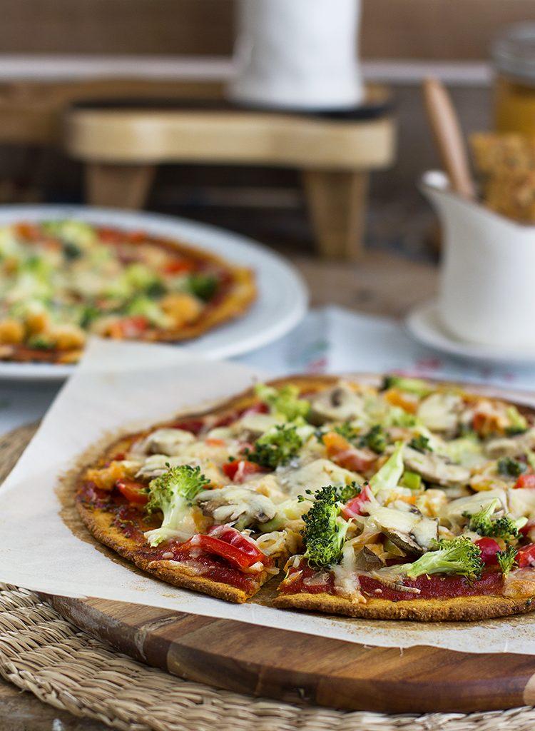 Pizza De Boniato, Fácil, Sencilla Y Super Saludable!